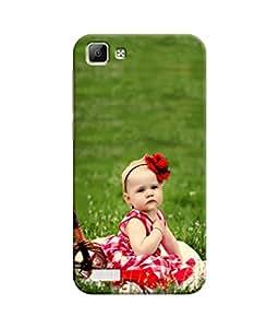 Sketchfab Cute on The Green Grass Latest Design High Quality Printed Designer Back Case Cover For Vivo V1