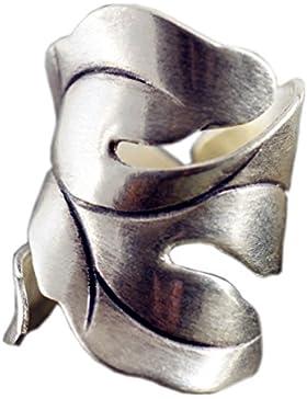 NicoWerk Silberring VINTAGE Ring Silber 925 Verstellbar Damenringe Damen Schmuck 190