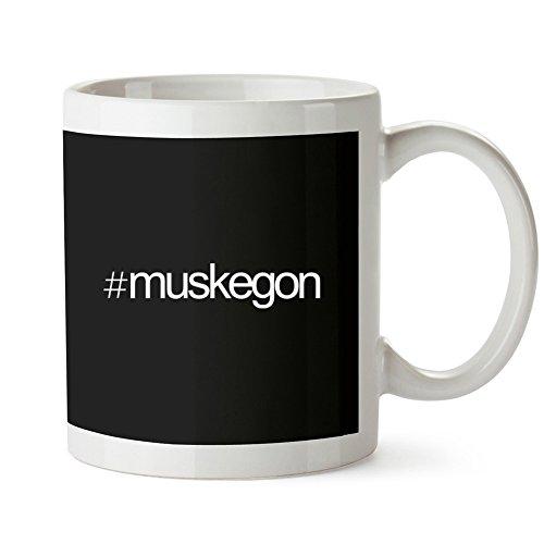 Idakoos Hashtag Muskegon - US Städte - Tassen