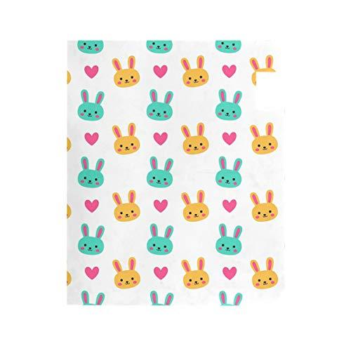 DXG1 Ostertag Kaninchen weiß groß magnetisch Briefkastenabdeckung Home Garten Dekoration 2 Größen