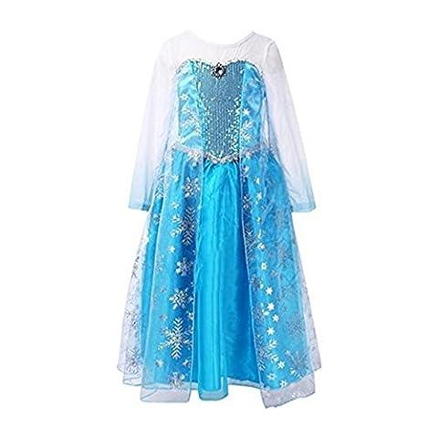 Costume La Reine Des Neiges - Ninimour Déguisement Reine des Neiges Costume Robe