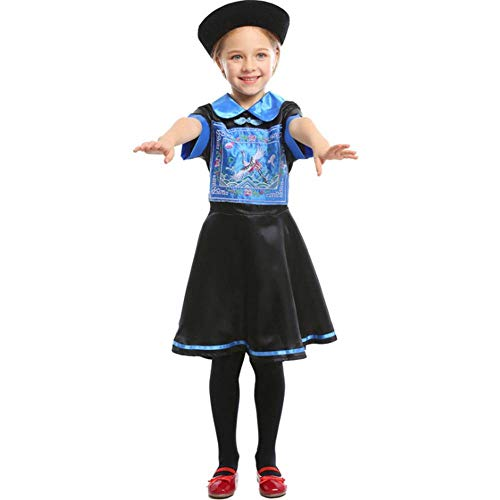 Zeichen Kostüm Für Berühmte - AIYA Halloween Kindheit Zombie Cosplay Kostüm Kindertag Bühnendrama Kostüm Zombie Eltern-Kind-Verschleiß