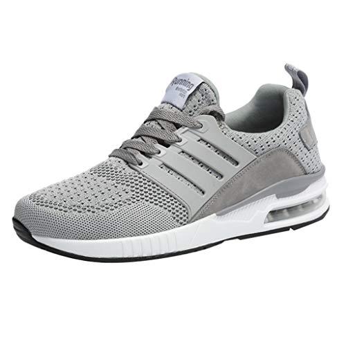 Damen Herren Laufschuhe Fitness straßenlaufschuhe Sneaker Sportschuhe atmungsaktiv rutschfeste Mode Air Gymnastik Schuhe Schnuren Freizeitschuhe -