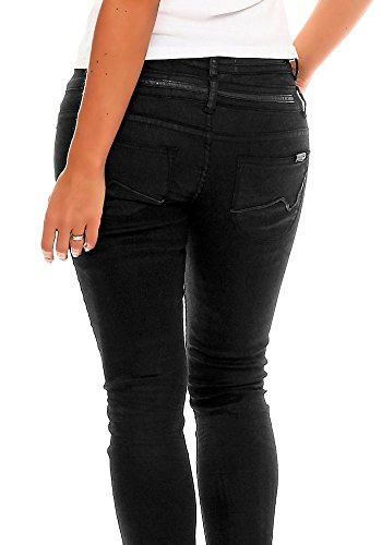 Circle of Trust Damen Jeans W16.1.9773 D`Nimes Slim Leg Coated Black