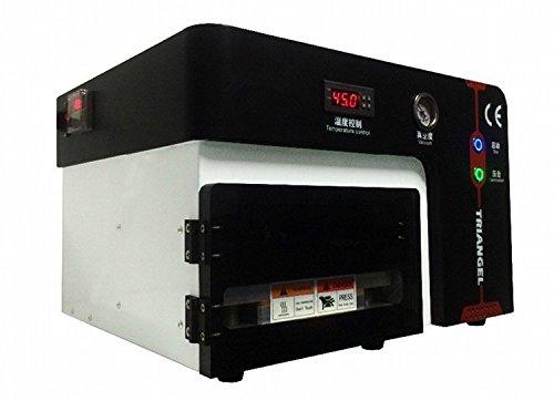 Gowe OCA Vakuum Maschine Laminierfolie für 17,8cm Bildschirm Eingebautes Defoam Maschine ohne Kompressor kein Vakuum Pumpe (Vakuum-kompressor-pumpe)