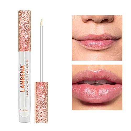 Lips Care Balight Plumping Lip Gloss Lip Plumper Flüssige Lippenstifte Lip Enhancer Lippenpraller Lipgloss Sexy Lippen Extrem Feuchtigkeitsspendend (1 pcs)