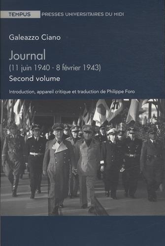 Journal : Volume 2 (11 juin 1940 - 8 février 1943)