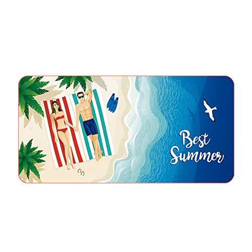Sanddicht, wasserabsorbierend, schnell trocknend, Sonnencreme, Mikrofaser, weich, geeignet für schwimmende Strand-Campingausflüge