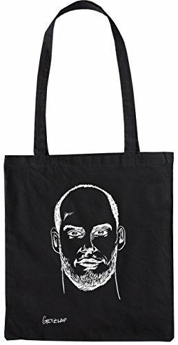 Mister Merchandise Tasche Ryan Getzlaf Stofftasche , Farbe: Schwarz Schwarz