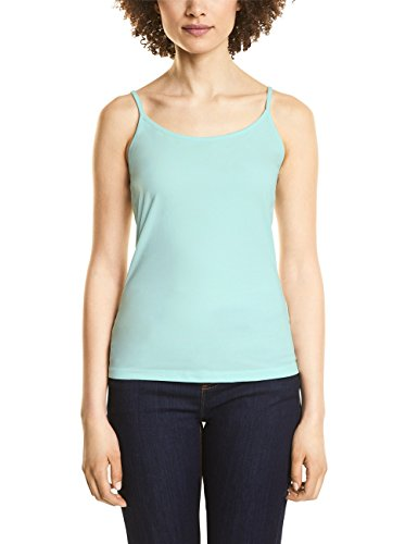 Street One Damen 312048 Top, Grün (Crystal Blue 11269), 38