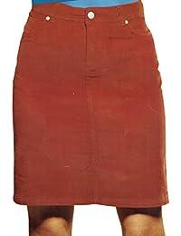 Damen Rock Cordrock oder Jeansrock elegant Bleistiftrock knielang Öko-Tex  Cord 0edd6e5e0a