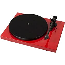 Pro-Ject Debut Carbon (DC) 2M red - Tocadiscos (Rojo, Metal, 415 x 320 x 118 mm, 5.6 kg)