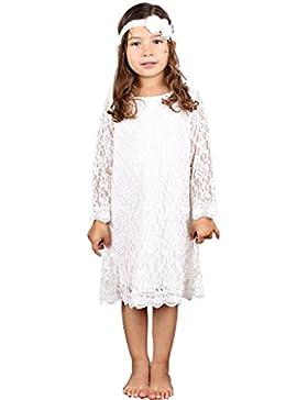 Bowdream Mädchen A-Linie Kleid