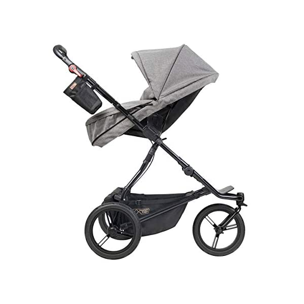 Mountain Buggy Model: Urban Jungle Luxury Collection Herringbone Including Changing Bag and Baby seat (carrycot Plus) Mountain Buggy Box contents: 1 Mountain Buggy Urban Jungle Luxury Collection Herringbone including changing bag and baby seat (carrycot plus) Product weight: 11.5 kg Seat load: 25 kg 8