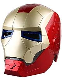 QWEASZER Avengers Marvel Legends Casque Iron Man Movie Legends Series Masque de Cosplay - Parfait pour Le Carnaval et l'Halloween