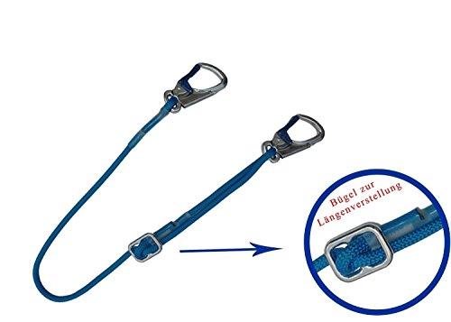 Positionierungs- Verbindungsmittel 1,5m Absturzsicherung Verbindungsmittel Bandfalldämpfer Falldämpfer Gerüstbau Dachdecker Baumpflege PSA