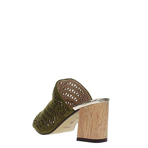 MENBUR 09241 Sandalo Donna Kaki