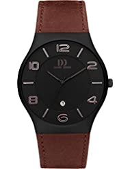 Danish Design - DZ120430 - Montre Homme - Quartz - Analogique - Bracelet Cuir marron