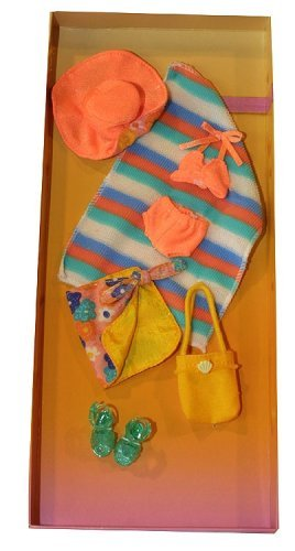 ORANGE SWIMSUIT & SARONG by Only Hearts Club -
