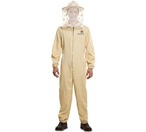 EUROCARNAVALES Kostüm Imkermeister Matthias Gr. M/L beige Overall Imker Bienenzüchter Beruf Karneval - Kostüme Karneval Berufe