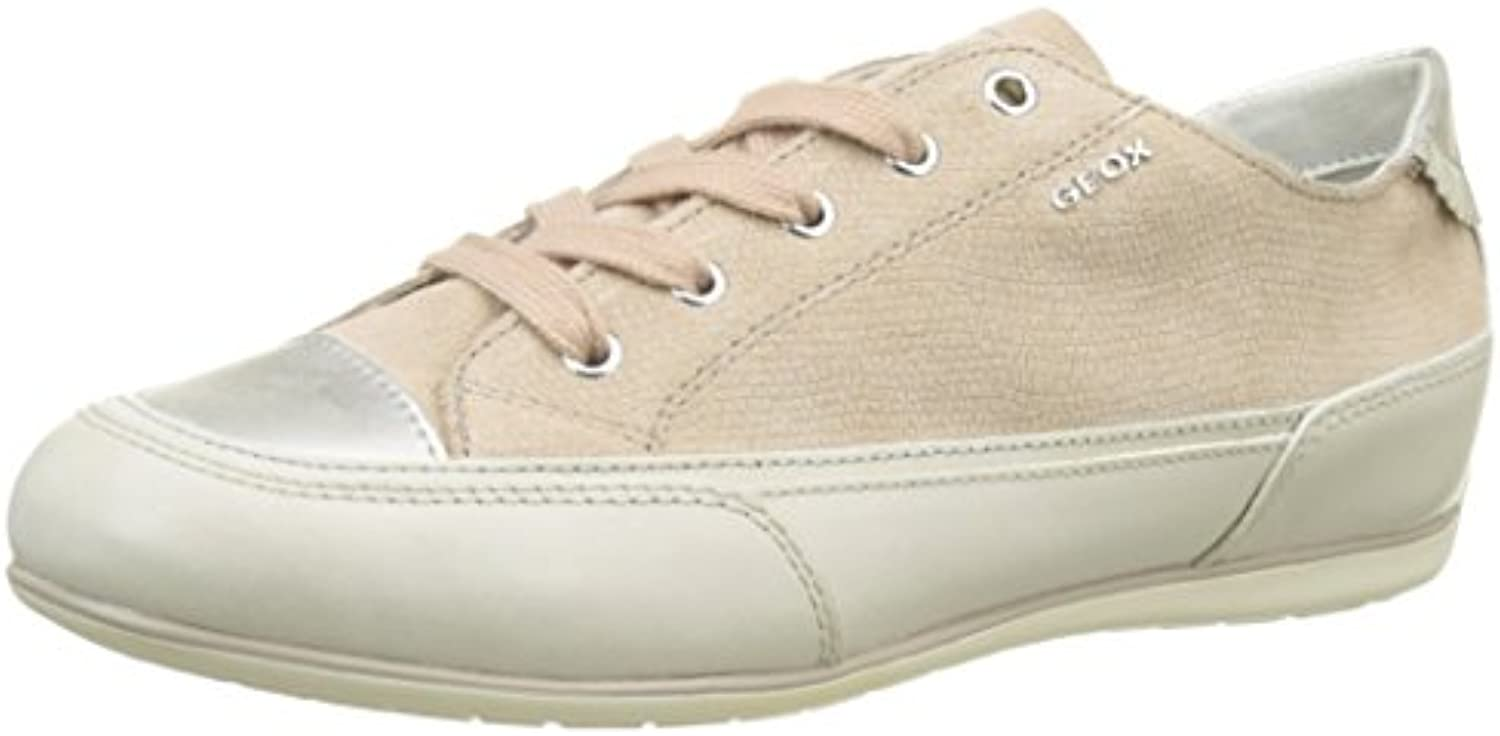Geox D New New New Moena D, Sneakers Basses Femme bb603a