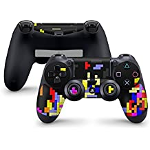 Sony Playstation 4- Funda protectora adhesiva para mando de PS4 (también PS4Slim & PS4Pro), Tetrads