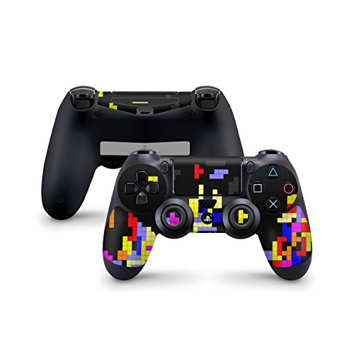 Skins4u Sony Playstation 4 Skin PS4 Controller Skins Design Sticker Aufkleber styling Set auch für Slim & Pro - Tetrads