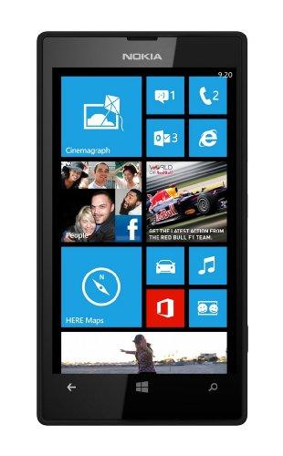 Nokia Lumia 520 Schwarz EU-Ware [Windows Phone 8, 1,0 G