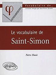 Le vocabulaire de Saint-Simon