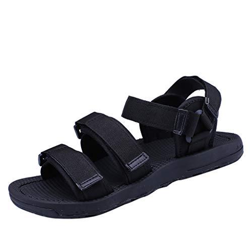 Pingtr - Damen Sandalen/Strandschuhe Hausschuhe,Herren Sommer Rutschfeste Sandalen Weiche Sohlen Coole atmungsaktive lässige Strandschuhe