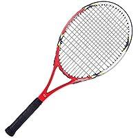 YFDD Única Raqueta de Tenis en 4 3/8 Grip Adulto Cabeza Pesada Equilibrio Raqueta de Tenis con la Cubierta Hombres Mujeres aijia