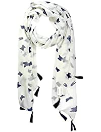 Icw Women's Chiffon Scarf (Fashion56_Multicolor_Small)