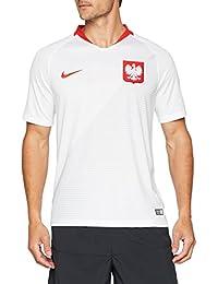 Nike 2018 Poland Stadium Home - Partes de Arriba de Ropa Deportiva para fútbol (Adulto