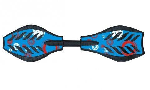Waveboard 2ruote-Skateboard-Skateboard Tavola Skate, blu