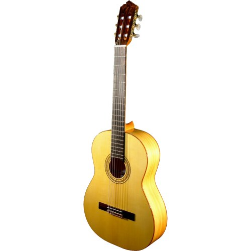 Francisco Molina Cipres Guitare flamenco tout massif fait à la main à...