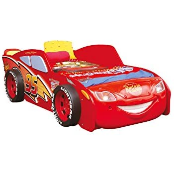 autobett kinderbett cars lightning mcqueen bett bett kinder disney k che haushalt. Black Bedroom Furniture Sets. Home Design Ideas