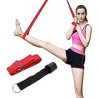 Deiris Yoga-Gurt Training f/ür Pilates Stretching lang 3 m Gymnastikausr/üstung Workout mit T/üranker Flexibilit/ät Balance verstellbar Yoga-Gurte