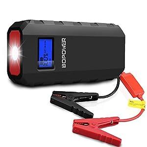Jump Starter Batería Portátil de Emergencia para coche,GooBang Doo BOPOWER Arrancador de Emergencia para coche con la…