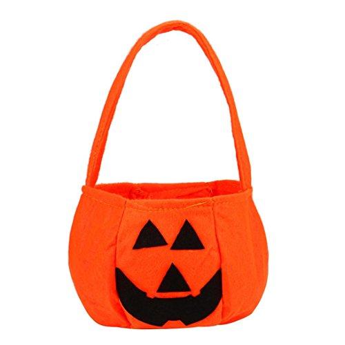 Halloween Candy Kostüm Zucker (Transer® Halloween Süßigkeits-Beutel-Geschenk-Beutel Reizende Kreative Partei-Kostüm-gegenwärtige Dekoration Wiederverwendbare Einkaufstasche Handtasche, 16x24cm (Handgriff)