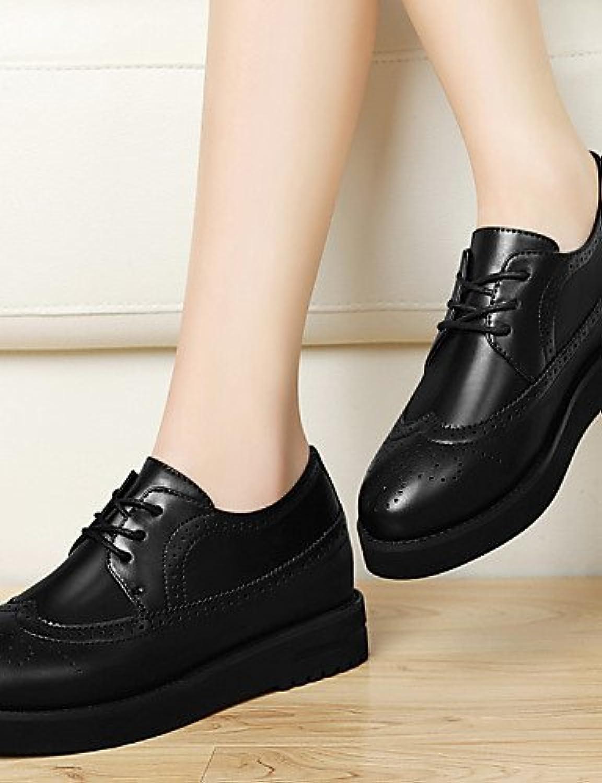 ZQ 2016 Zapatos de mujer - Tacón Plano - Comfort / Pump Básico - Tacones - Oficina y Trabajo / Vestido / Casual...