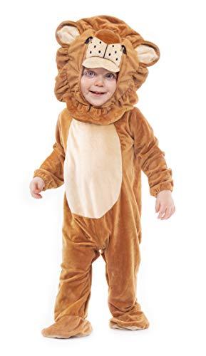 Instant Costumes Deluxe Plüsch Cheeky Monkey Tierbaby-Kostüm (12-24 Months, Lion)