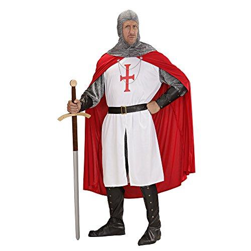 chsenenkostüm Kreuzritter, Größe M (Weißes Cape Kostüm Ideen)