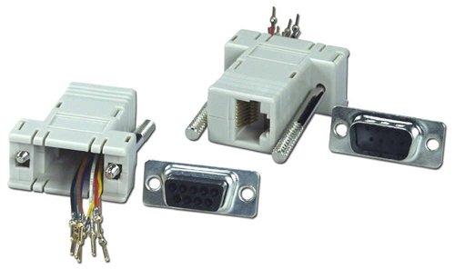 Qvs Cc438B Db9 Male To Rj45 Female Serial & Terminal Modular Bulk Adaptor  available at amazon for Rs.2019