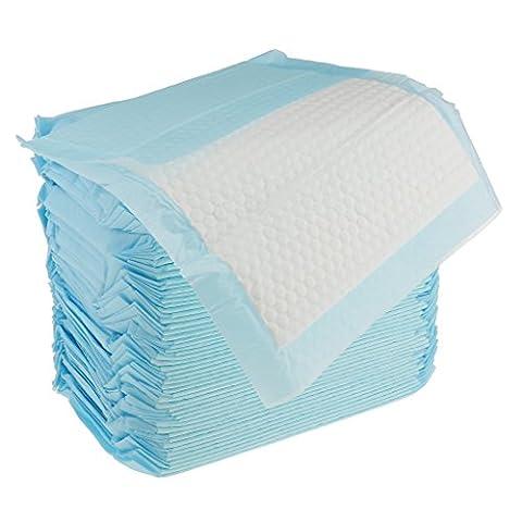 sharplace 70Stück/Bag Hohe Qualität Einweg Underpads Super Saugfähigkeit Bett Pad von ABENA HYGIENE GMBH Matratze Tabelle Displayschutzfolie 33x 25cm, blau, 33x25cm