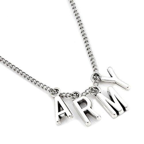 Yuxareen KPOP BTS Bangtan Boys Choker Necklace Hot Gift (Army)