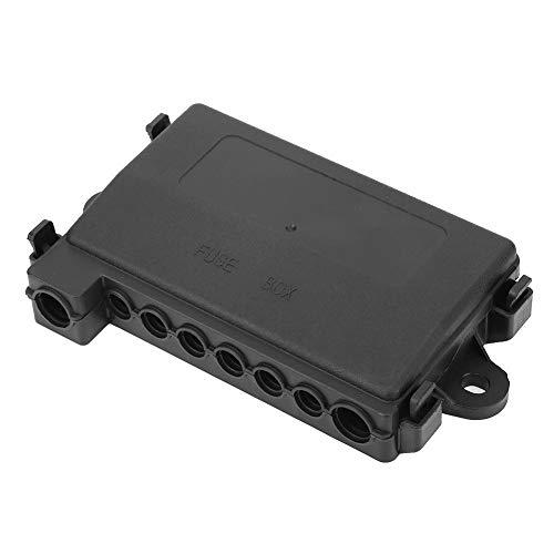 Suuonee Sicherungshalter, Durable MIDI Multi-Way Fuse Block Box Halter Sicherungskasten für RV Car Boat Bus Zubehör Fuse Block-box