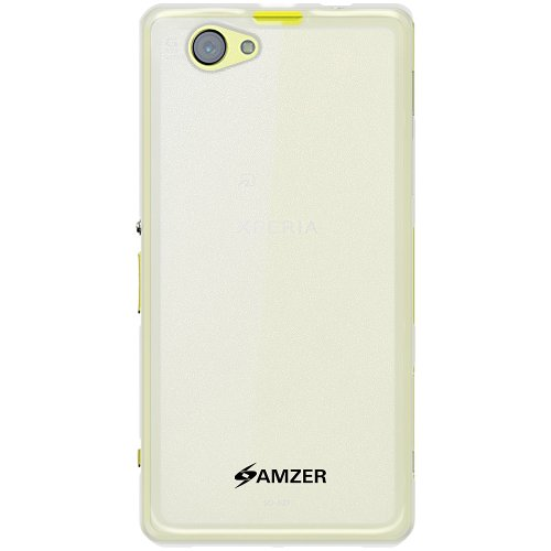Amzer 96461 Pudding TPU Case - Clear for Sony Xperia Z1 Mini  available at amazon for Rs.339