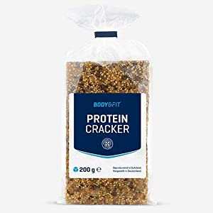 Body & Fit Reduced Carb Eiweiß-Cracker Naturell 1 packung