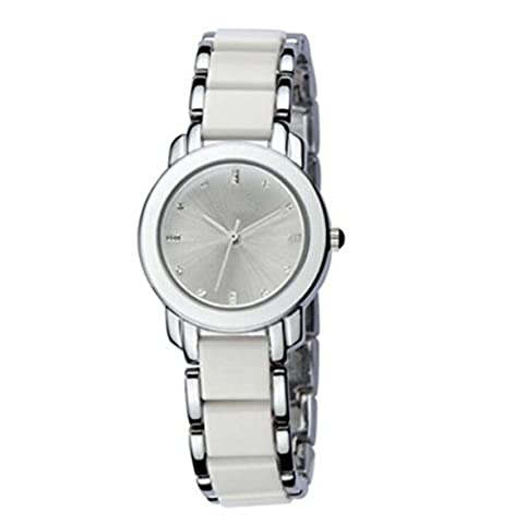 Business Casual Fashion Watches Schülertisch Armband Tisch,Silver-OneSize