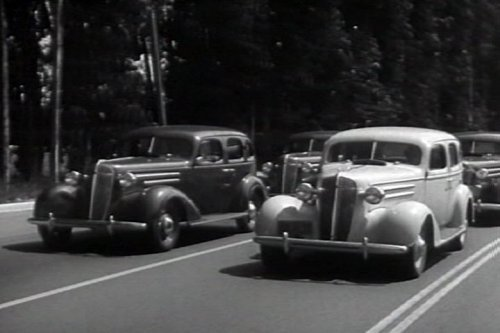 """Chevrolet """"Cinderella"""" Defensive Driving Promo with Miniatures: Formations (1936)"""